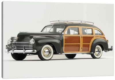 1941 Chrysler Town & Country Canvas Art Print