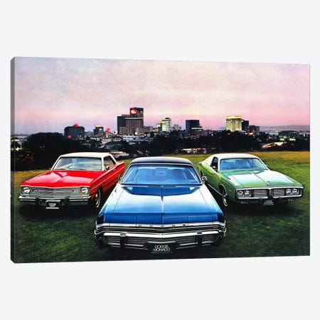 Dodge MonacoCharger, Dart Canvas Print #3511} by Unknown Artist Canvas Art Print