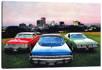 Dodge MonacoCharger, Dart Canvas Print #3511