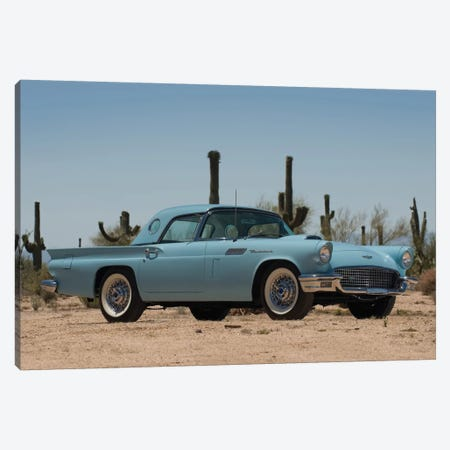 1957 Ford Thunderbird Canvas Print #3515} by Unknown Artist Canvas Art