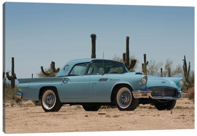 1957 Ford Thunderbird Canvas Art Print