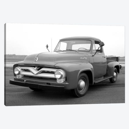 1953 Ford F-100 Truck Canvas Print #3516} by Unknown Artist Canvas Wall Art