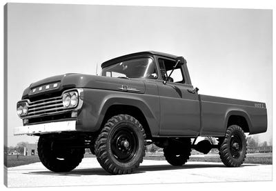 1959 Ford F-250 4x4 Canvas Art Print