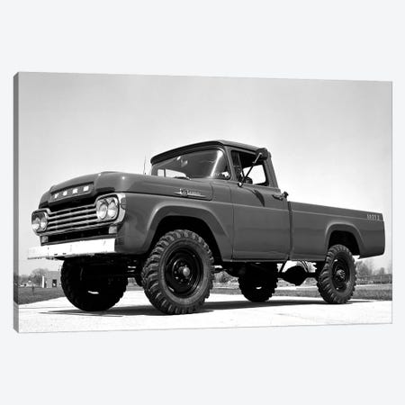 1959 Ford F-250 4x4 Canvas Print #3518} by Unknown Artist Canvas Print