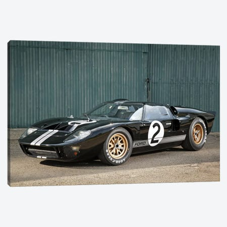 Ford Gt40 Le Mans Race Car, 1966 Canvas Print #3520} by Unknown Artist Canvas Art