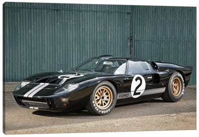 Ford Gt40 Le Mans Race Car, 1966 Canvas Art Print