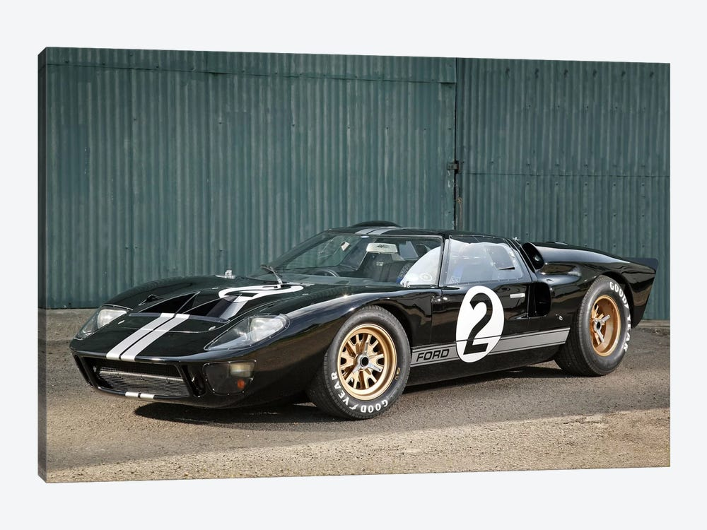 Ford Gt40 Le Mans Race Car, 1966 1-piece Canvas Wall Art