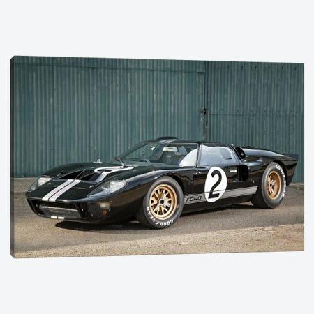 Ford Gt40 Le Mans Race Car, 1966 3-Piece Canvas #3520} by Unknown Artist Canvas Art
