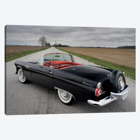 Ford Thunderbird, 1956 Canvas Print #3521} by Unknown Artist Canvas Artwork