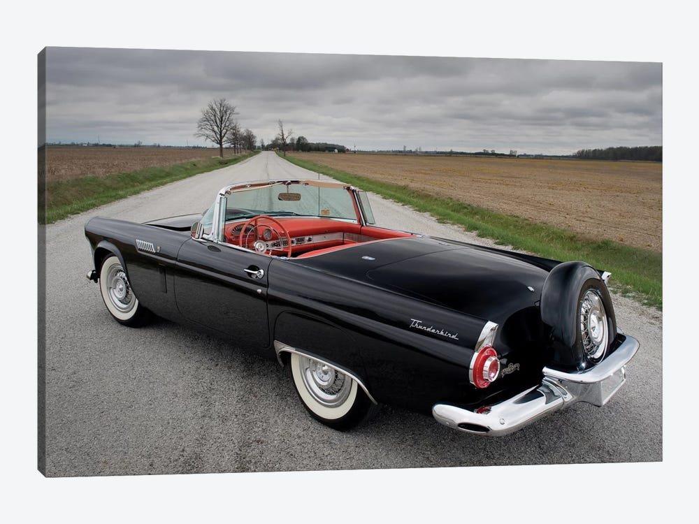 Ford Thunderbird, 1956 by Unknown Artist 1-piece Canvas Print