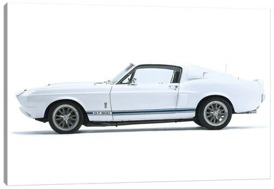 Shelby Mustang Gt500, 1967 Canvas Art Print