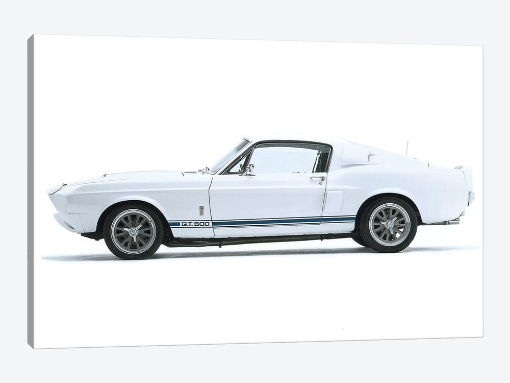 Shelby Mustang Gt500, 1967 by Unknown Artist 1-piece Canvas Wall Art