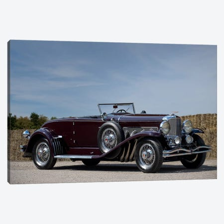 1935 Duesenberg Model J Murphy Convertible Coupe Canvas Print #3528} by Unknown Artist Canvas Artwork
