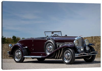 1935 Duesenberg Model J Murphy Convertible Coupe Canvas Art Print