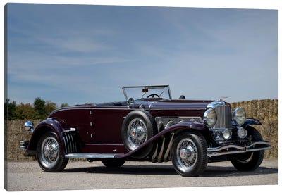 1935 Duesenberg Model J Murphy Convertible Coupe Canvas Art Print