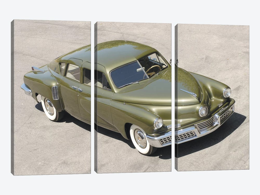 1948 Tucker Sedan 3-piece Canvas Print