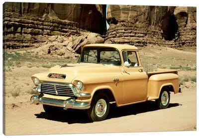 Gmc 100 Series 1-2-ton Pickup, 1957 Canvas Art Print