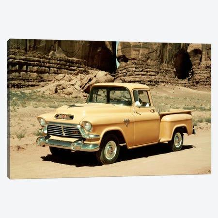 Gmc 100 Series 1-2-ton Pickup, 1957 Canvas Print #3536} by Unknown Artist Canvas Artwork
