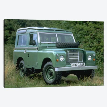Land Rover Series III Canvas Print #3538} by Unknown Artist Art Print