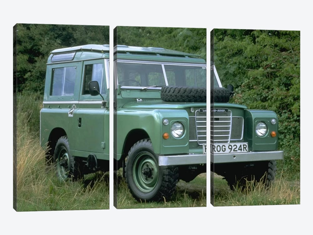 Landrover Series Iii 3-piece Canvas Art Print
