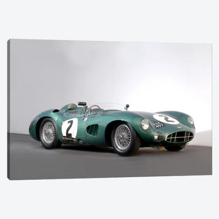 Aston Martin Dbr1, 1959 Canvas Print #3540} by Unknown Artist Canvas Artwork