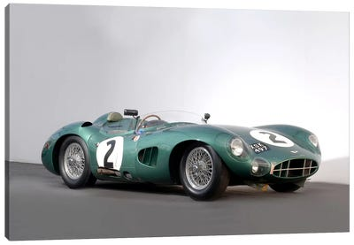 Aston Martin Dbr1, 1959 Canvas Art Print