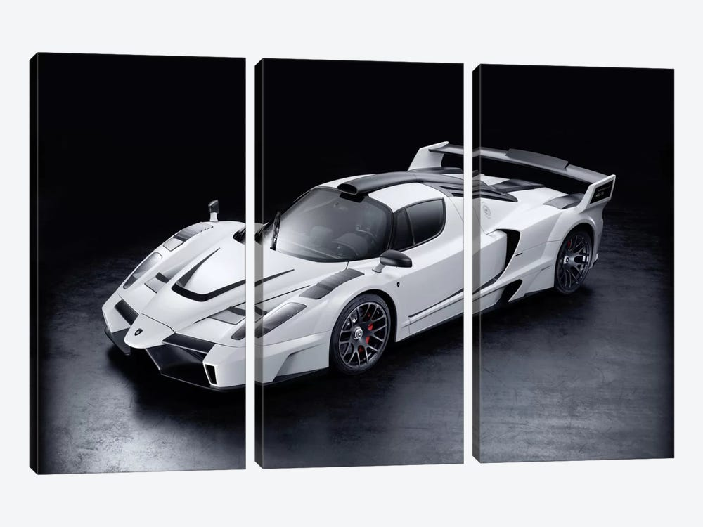 Ferrari Enzo Gemballa Mig-u1 3-piece Canvas Artwork