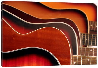 Acoustic Guitar Canvas Art Print