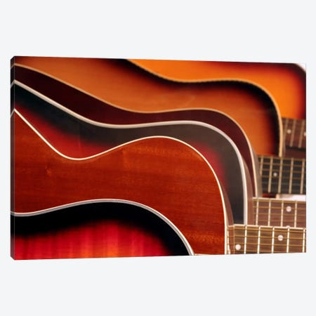 Acoustic Guitar Canvas Print #35} by Unknown Artist Art Print