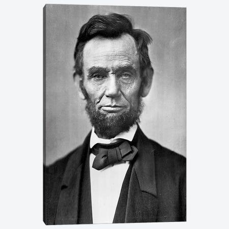 Abraham Lincoln Portrait Canvas Print #3600} by Unknown Artist Canvas Print