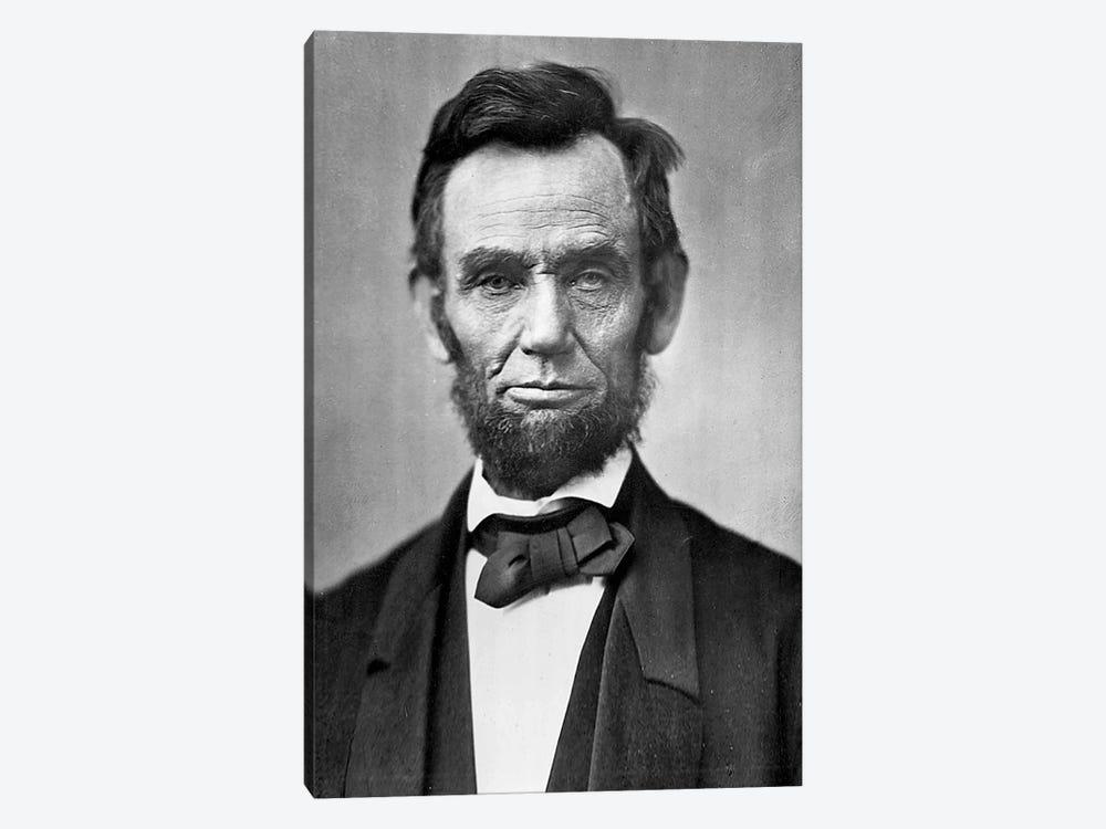 Abraham Lincoln Portrait by Unknown Artist 1-piece Canvas Art