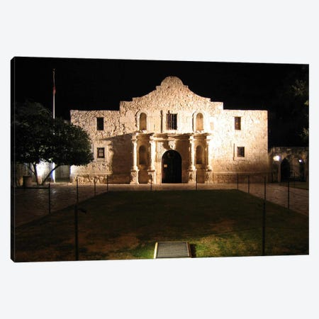 The Alamo Canvas Print #3602} by Unknown Artist Canvas Print
