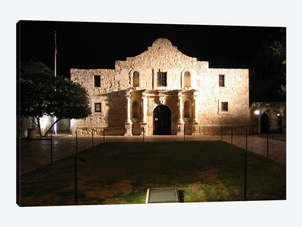 The Alamo by Unknown Artist 1-piece Canvas Art