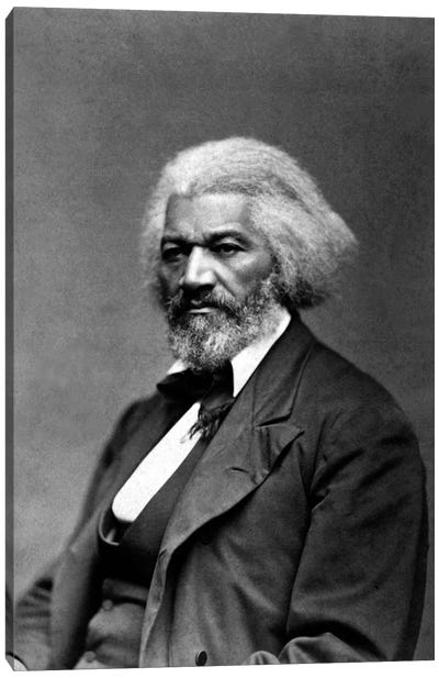 Frederick Douglass Portrait Canvas Art Print