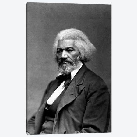 Frederick Douglass Portrait Canvas Print #3619} by Unknown Artist Canvas Artwork