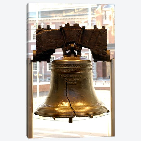Liberty Bell Canvas Print #3638} by Unknown Artist Canvas Art