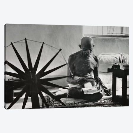 Mahatma Gandhi Canvas Print #3642} by Unknown Artist Canvas Print