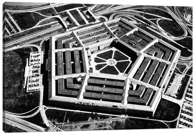 The Pentagon Canvas Art Print