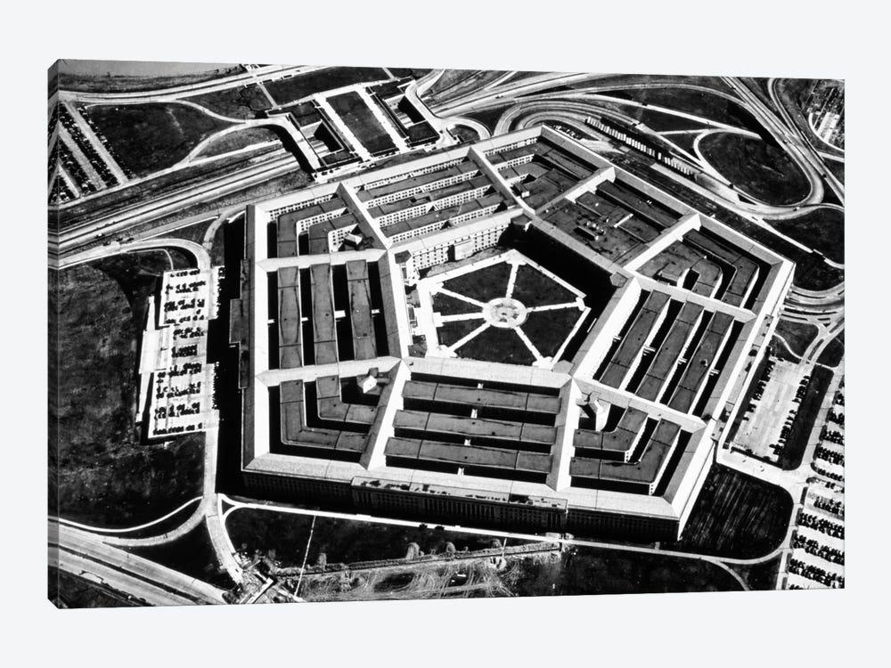 The Pentagon by Unknown Artist 1-piece Art Print