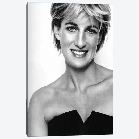 Princess Diana Portrait Canvas Print #3655} by Unknown Artist Canvas Art Print