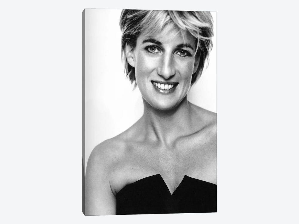 Princess Diana Portrait by Unknown Artist 1-piece Canvas Artwork