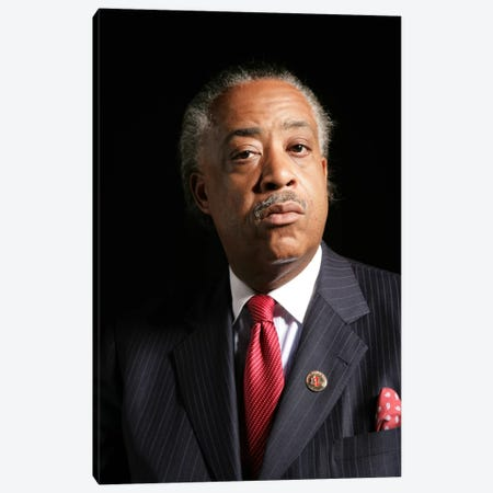 Reverend Al Sharpton Canvas Print #3657} by Unknown Artist Canvas Art Print