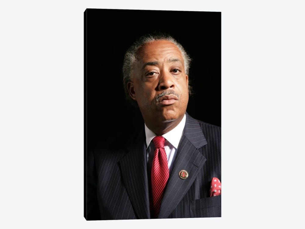 Reverend Al Sharpton 1-piece Canvas Wall Art