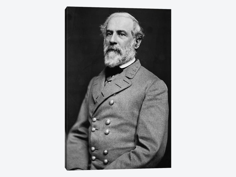 General Robert E. Lee by Unknown Artist 1-piece Canvas Art Print