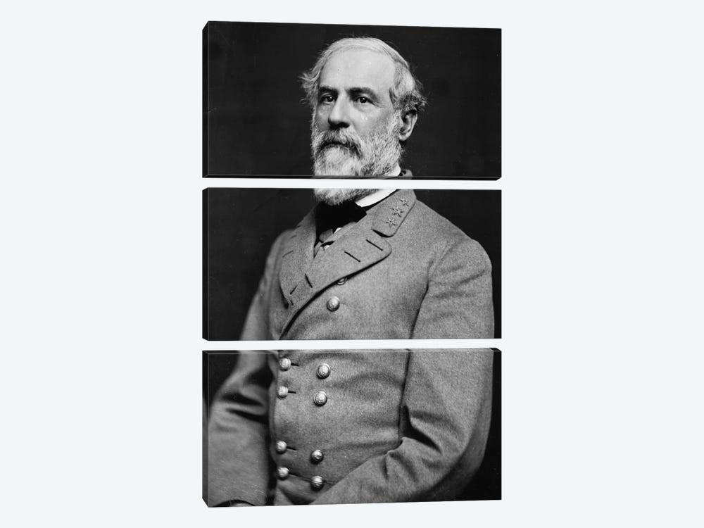 General Robert E. Lee 3-piece Art Print