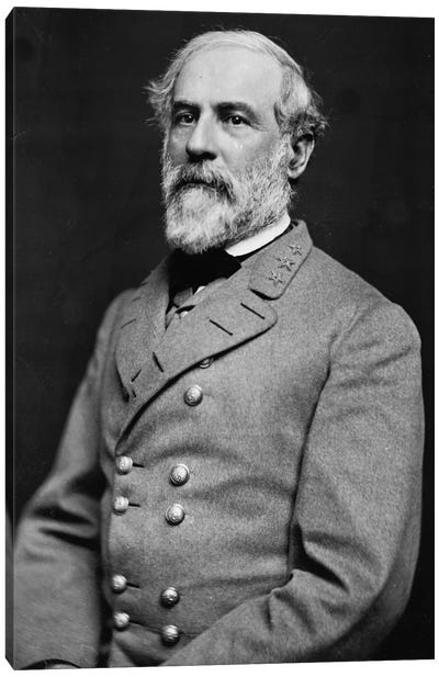 General Robert E. Lee Canvas Art Print