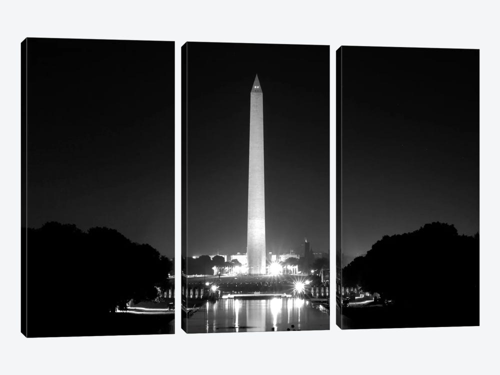Washington Monument 3-piece Canvas Artwork