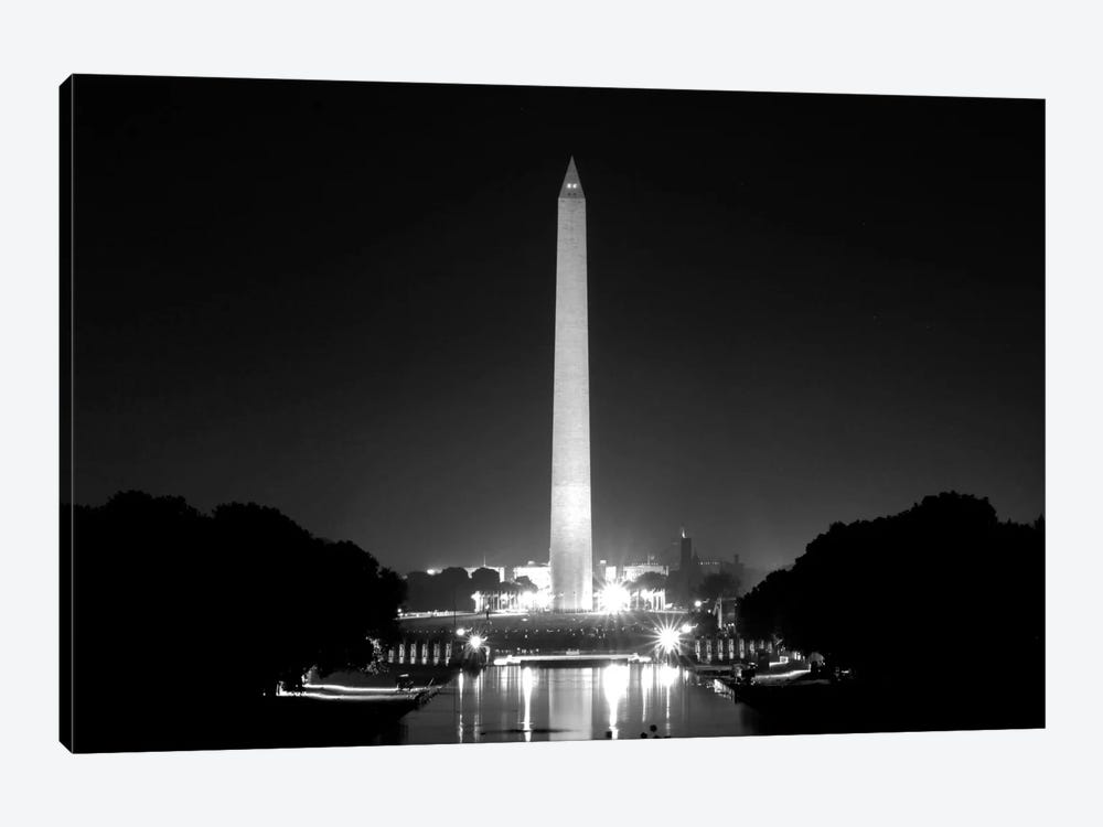 Washington Monument by Unknown Artist 1-piece Canvas Wall Art