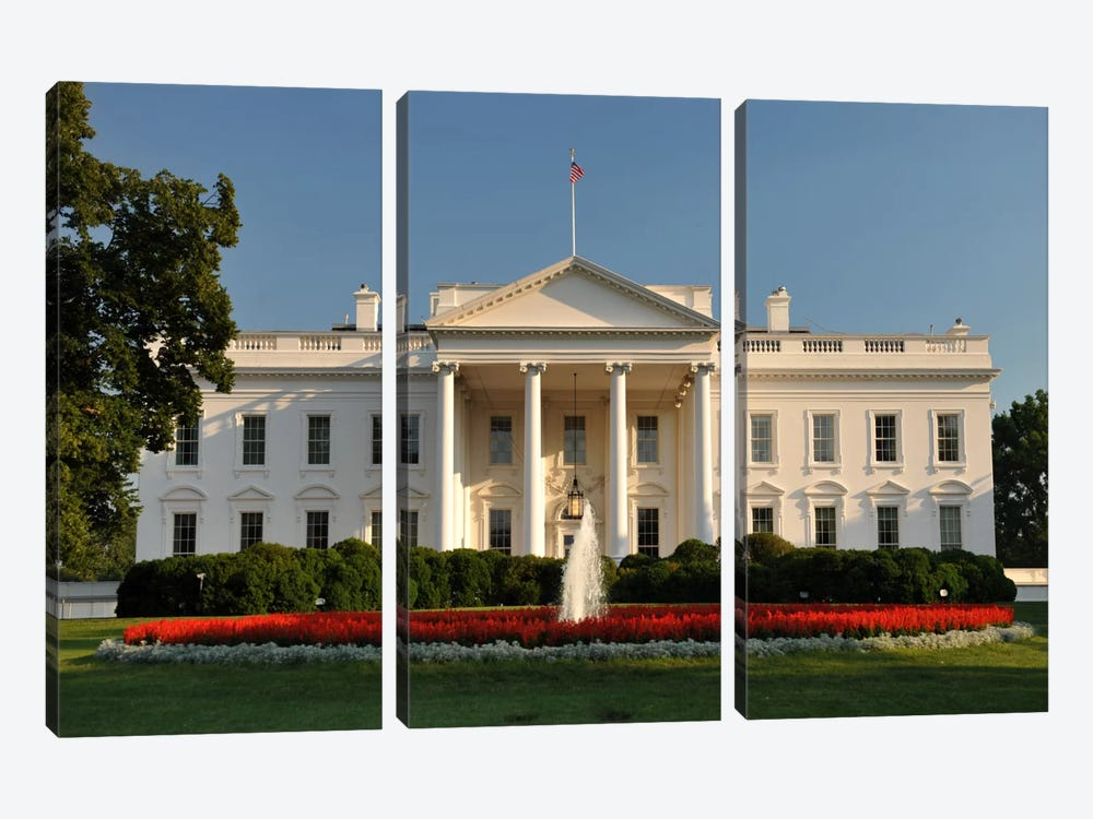 The White House 3-piece Canvas Print