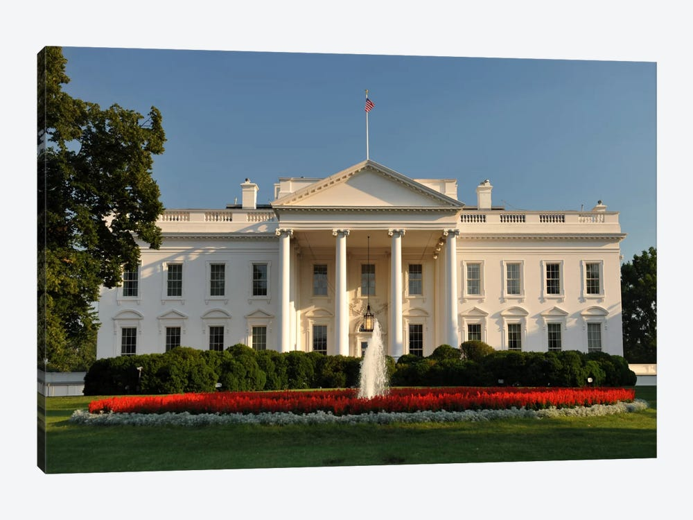 The White House by Unknown Artist 1-piece Canvas Print